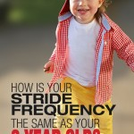 How is Your Stride Frequency the Same as Your Two Year Old?