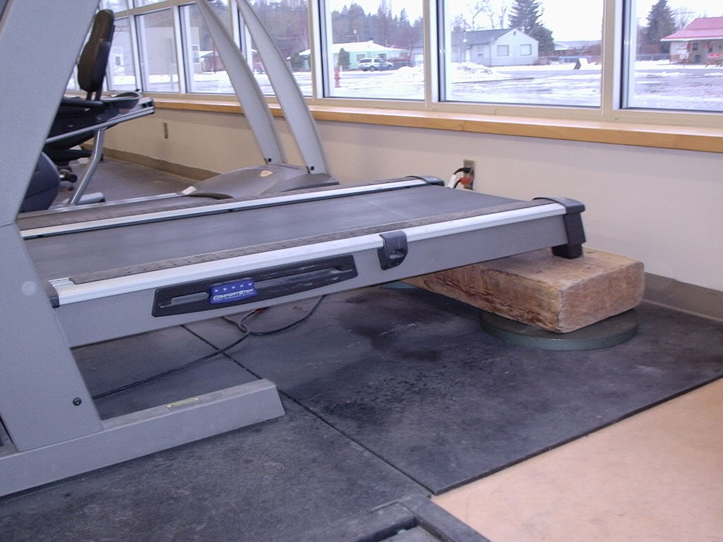 Blocks Treadmill decline