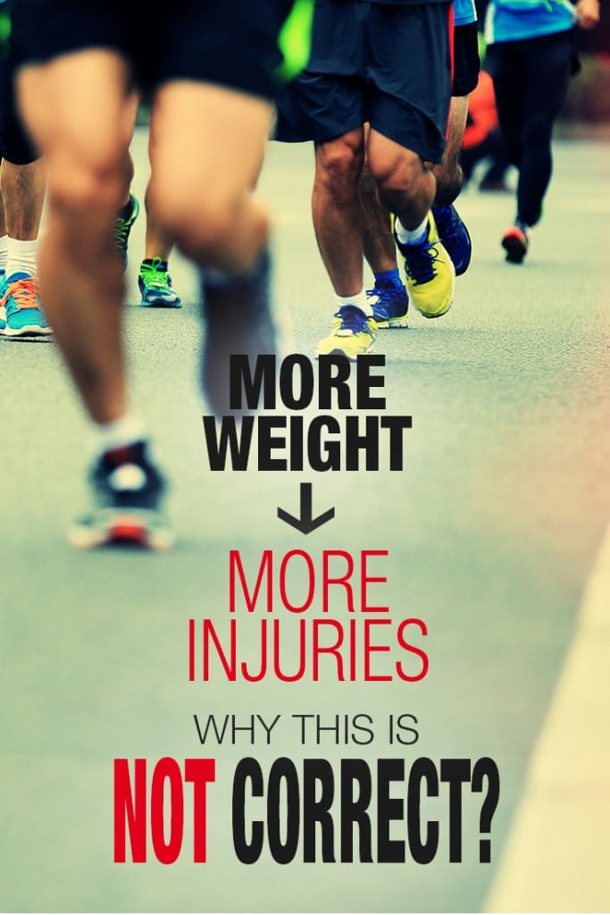 Have you ever been told heavier runners are at a higher risk of injuries? Our research found this was false, heavier runners may even be at a lower risk.