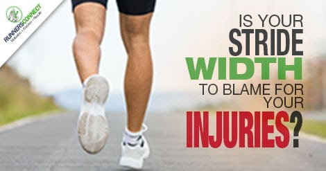 Is a narrow stride width the reason you suffer from IT band issues or Shin splints? We know stride length is important, but is this the real culprit?