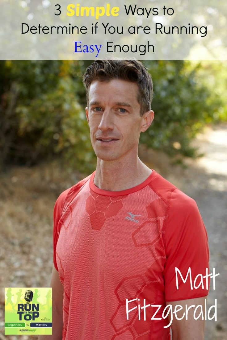 We talk to expert Matt Fitzgerald about diets, healthy eating, and why we find it so hard to run easy, even when we know we should. Matt shares his knowledge on how you can make sure you are running the right pace to recover.