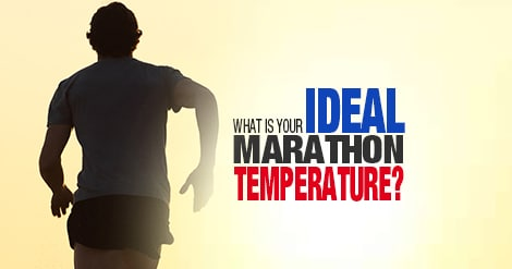 The weather and temperature on race day for the marathon can affect your performance, but do you have an ideal racing temperature? We tell you what yours is