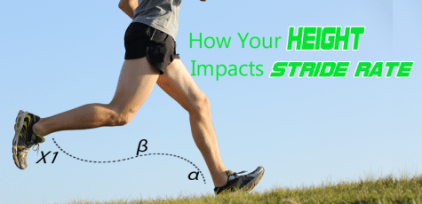 Do taller runners have a lower stride frequency, and shorter runners a lower stride frequency? Things are not always what they seem; studies found no relationship between height and stride frequency.