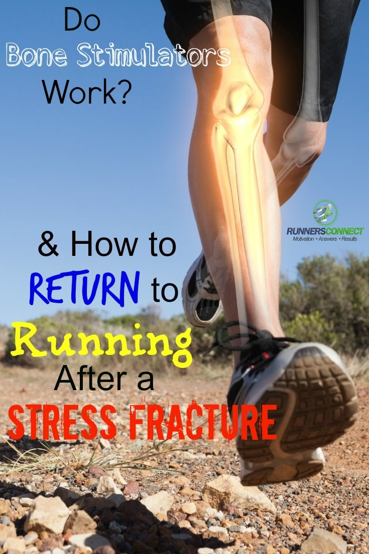 We research bone stimulators to see if they speed recovery of stress fractures, and provide a program proven to help you return to running quickly & safely.