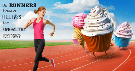 Find out if you can keep your weight low run fast and eat fast food