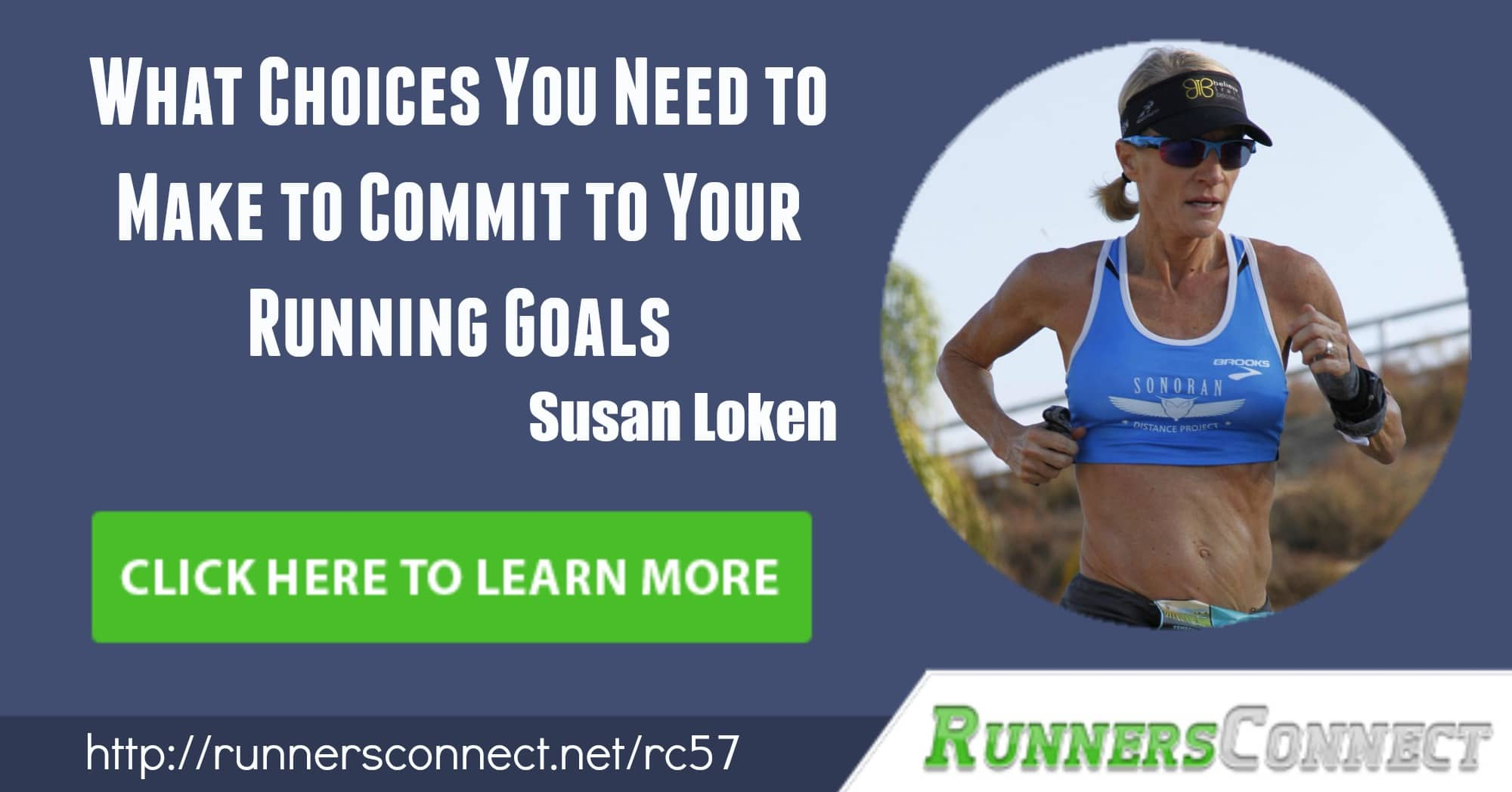 Susan Loken is one inspirational masters runner! From a run-walk mother of 3 to a 4 time marathon masters champion, learn her tips & tricks to running fast!