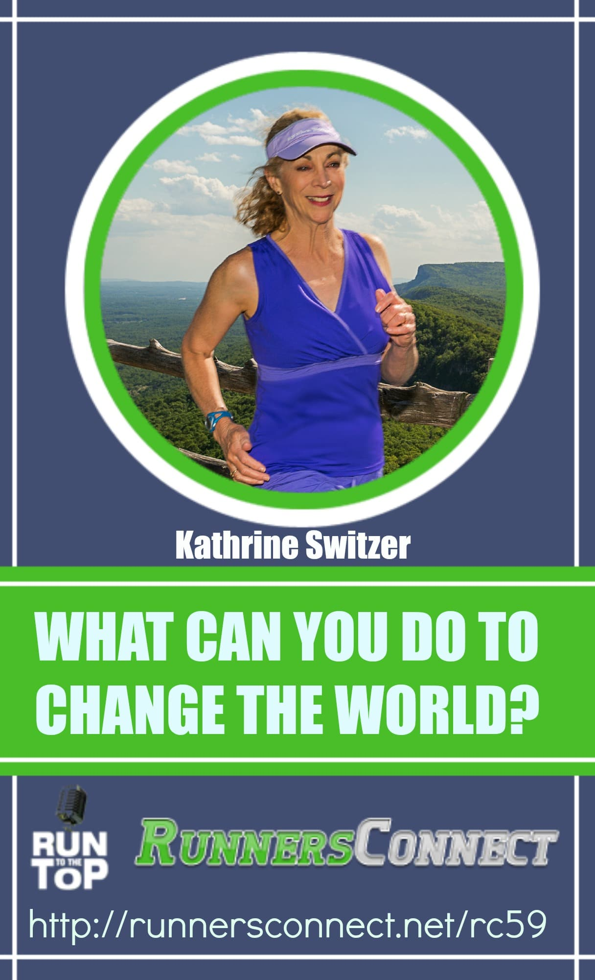 Listen to this inspiring interview with Kathrine Switzer about that historic day at the Boston Marathon, and she talks about the importance of running and runners in creating freedom for people all over the world.