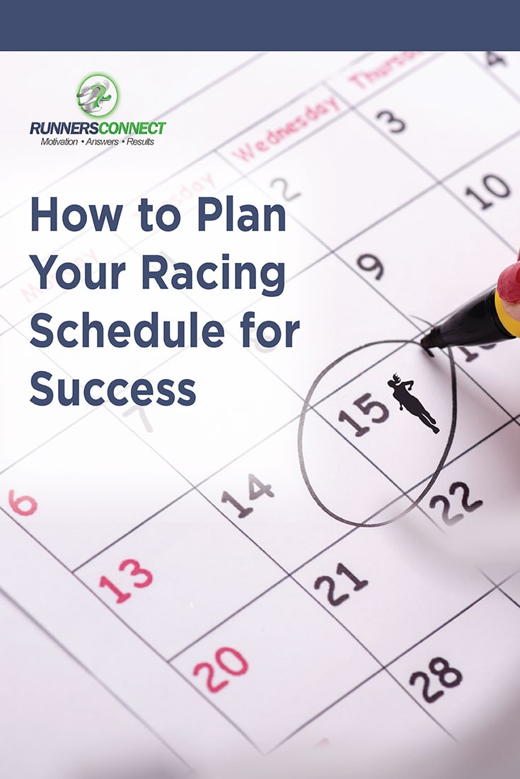 It can be difficult to determine a racing schedule to allow you to reach your goals, and run fast when it matters, at your goal race. This article explains how to plan your training and racing, depending on how much you like (and have time to) race.