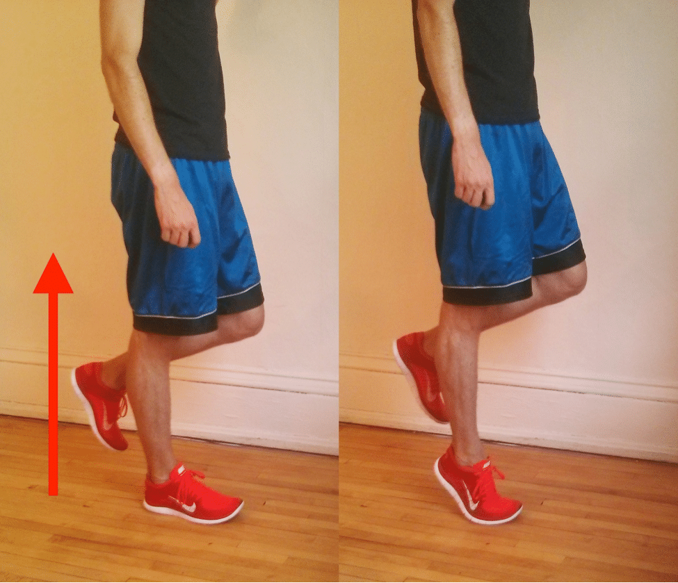 The single-leg heel raise test is painful or impossible if you have posterior tibial tendon dysfunction.