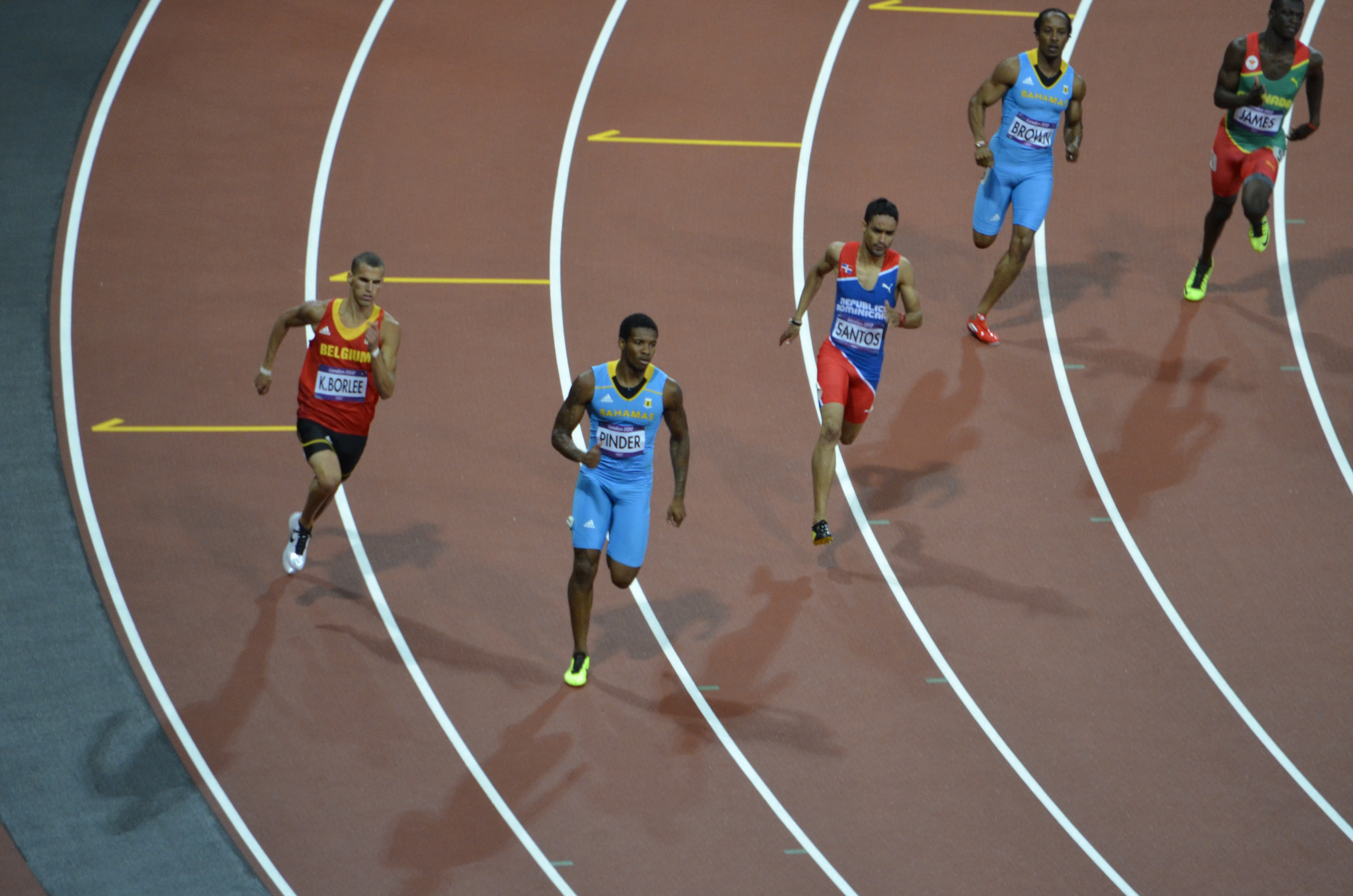 What are the dimensions for a 400meter track  Referencecom