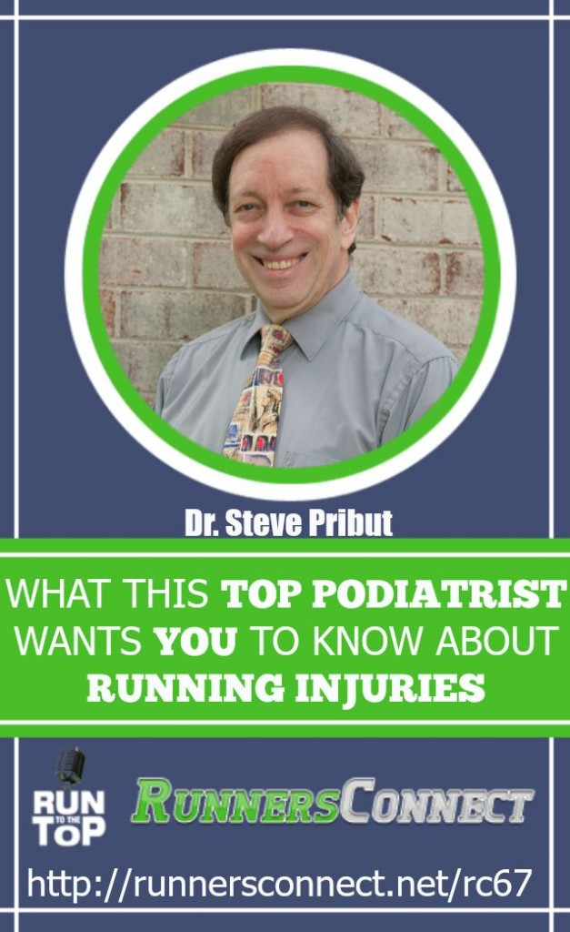One of the 125 top Podiatric physicians in the US comes on the Run to the Top podcast to talk about common injuries, and how to prevent them, and the role of motion control shoes in injuries.