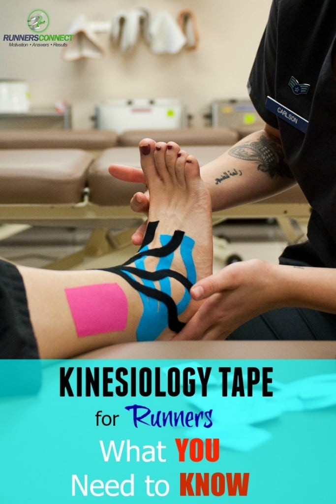 Kinesio tape is common at running events and races, but does it actually help? We research into its background, uses, and effects for runners to give you the best advice on how to use it for performance, without becoming reliant on it to run fast.