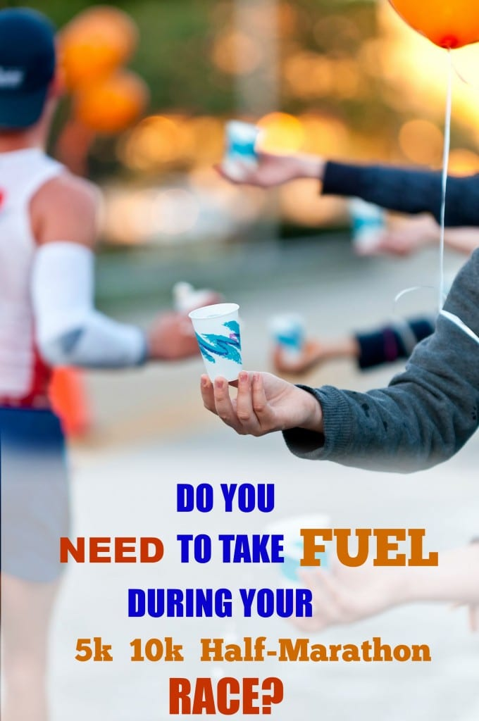 Taking fuel during a half or full marathon can prevent hitting the wall, but what about in shorter races? Here is how to determine when you need fuel depending on the time you spend running it. Very helpful guide to use in the future.