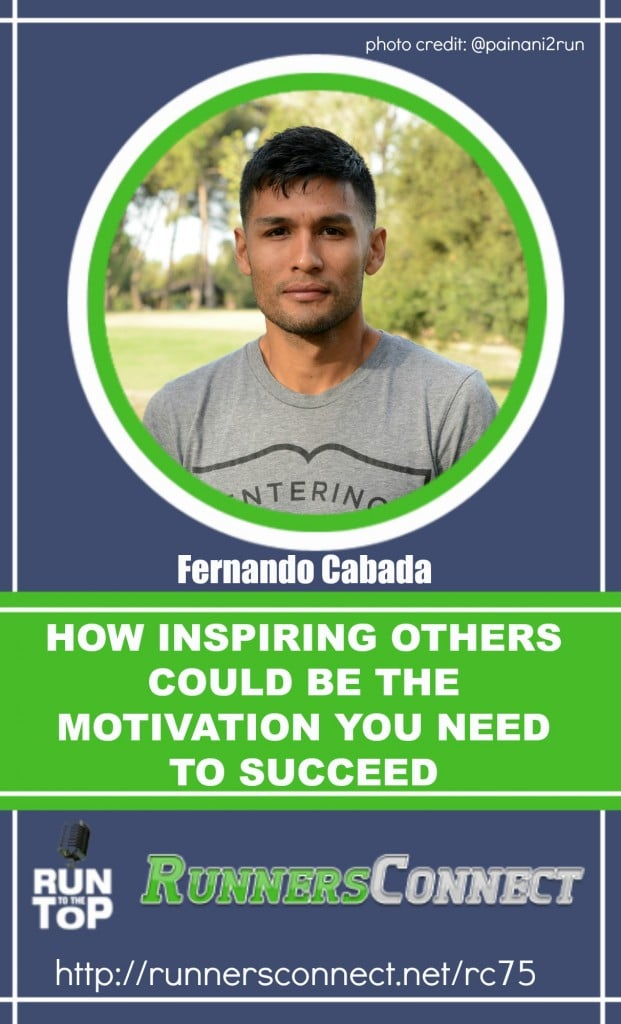 """Incredible story of 2:11 marathoner Fernando Cabada, who shares his brave, inspiring story of how running helped him to """"became someone"""", overcoming many struggles being raised in an Immigrant family. This is a heart wrenching story that every runner will appreciate. If you are struggling with your training, listen to this, it will change your perspective!"""