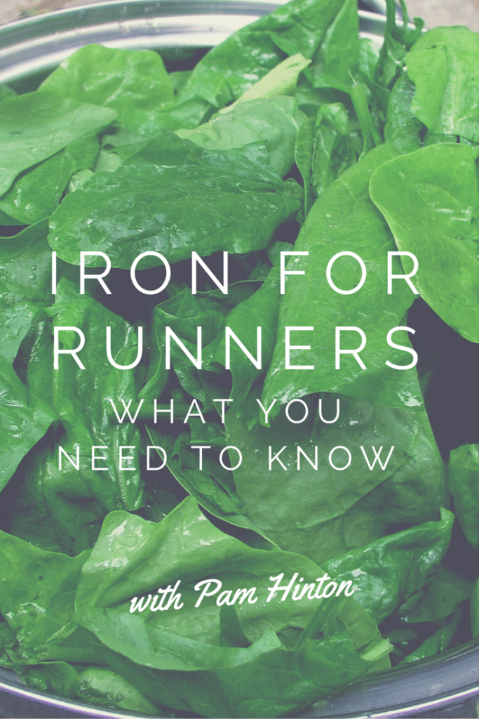When do runners need to take iron? Elite Runner Tina Muir chats with researcher Pam Hinton, who explains when and why we need to take it and other supplements to run our best and stay strong, especially for women!