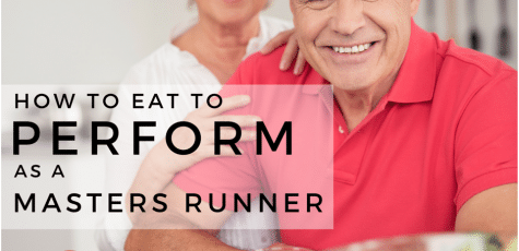 Masters runners cannot get away with eating the same way as when we were younger. This article has some helpful, practical advice on how to eat healthy as a master to feel strong and stay fit as you age.