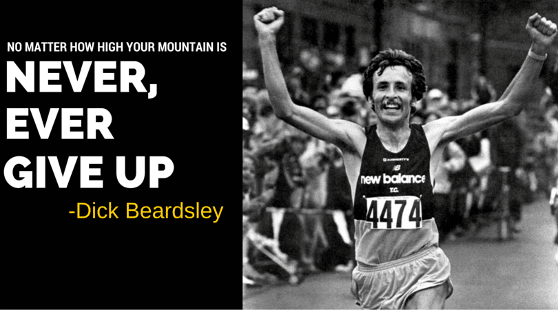 "Dick Beardsley was once one of the best marathoners in the world, almost beating Alberto Salazar in the Boston Marathon as a ""nobody"", but it is his story after he retired from running that is truly inspiring. Dick shares all about his drug addiction, struggles with identity, and losing his son. A Must listen!"