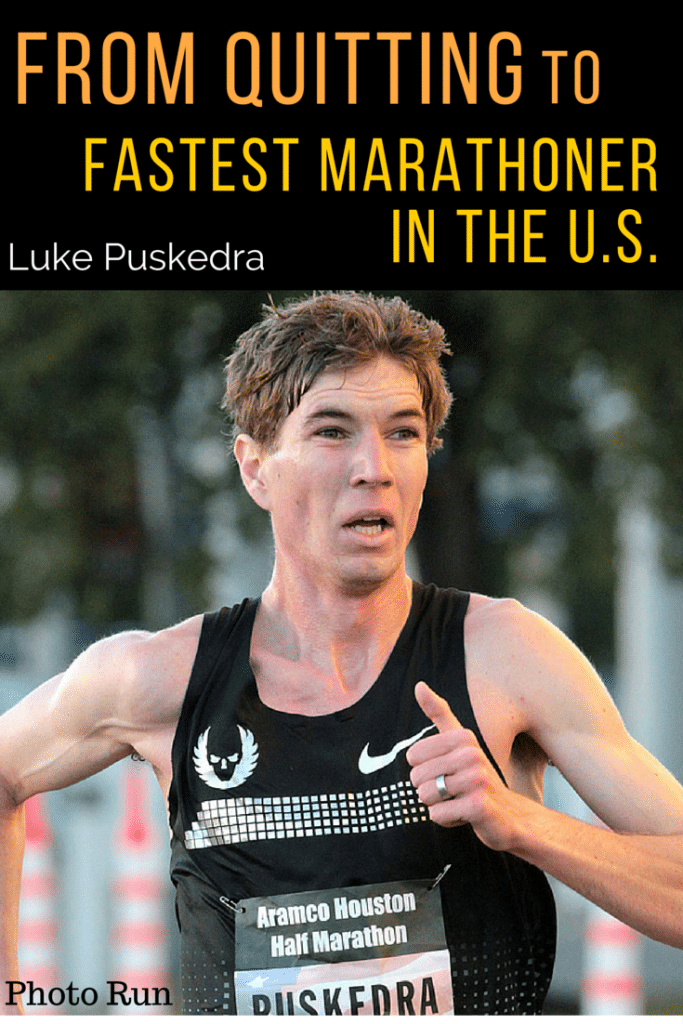 Luke Puskedra had the world at his feet when he graduated from Oregon University. Instead, he quit running with no desire to return, but in his comeback this year, with a new balanced lifestyle, he ran the fastest time in 2015 for an American marathoner (2:10). Read his inspiring story of overcoming setbacks, and how to balance running and life.