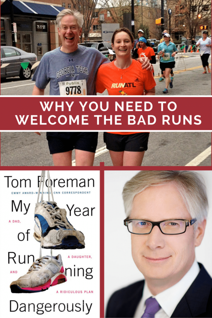 Emmy award winning CNN reporter Tom Foreman shares his return to running story in a way that we can all relate to. This truly makes us appreciate running and just how much joy it brings to every area of our lives. I want to go purchase the book now!