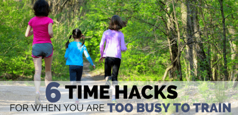 It's difficult to know how to fit running into a busy and adult life, especially when kids are involved. Here are 6 unique and helpful time hacks to get your runs in, no matter how busy life gets.