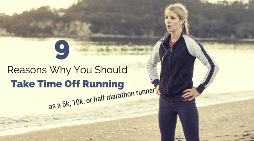 Many runners think time off is only needed after a marathon (or longer), but 5k, 10k, half marathon runners could change their running lives forever by taking a few days off 1-2 times per year. You will be shocked how little fitness we found you lose after 5 days off!