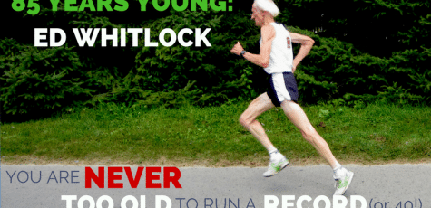 "85 year-old Ed Whitlock has shattered the ""too old to run"" theory by breaking over 40 world records, including running a 2:54 marathon at age 73, and 1:50 half marathon at 85. Hear his story and what motivates him to keep chasing those world records."