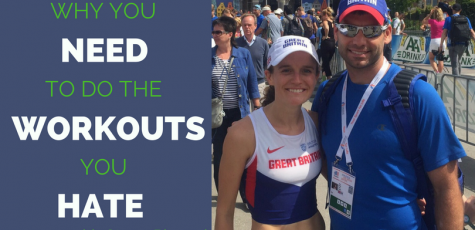 Professional Runner and host of the Run to the Top Podcast, Tina Muir's coach and husband is on the show this week to share his training advice. He gives exact workouts to do for every distance from 800m- marathon! Very helpful for runners of every level.
