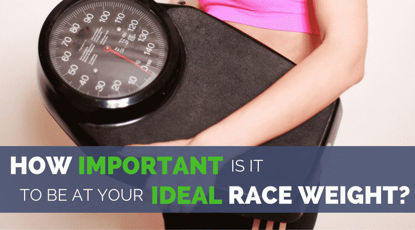 If you have ever wondered if there is an ideal race weight for runners or how to find your ideal running weight for your body type, this post is for you. Is it going to help you run faster? Or put you at a higher risk of injuries and overtraining. This article considers both sides, and recommends the best way to lose weight as a runner, no matter when your next big race is.