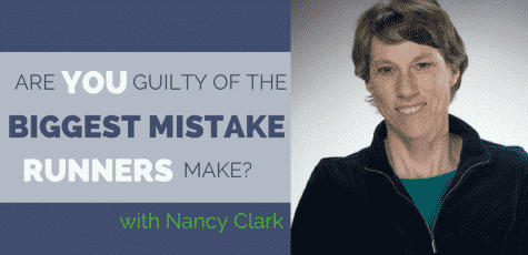 Nancy Clark is one of the best known dietitians in the running industry. Her knowledge about nutrition for runners is helpful no matter what level you run or train at. Listen to Nancy give her best advice on how to fuel correctly for your training and racing, and ask yourself, do you make the biggest mistake runners make that sabotages their running?