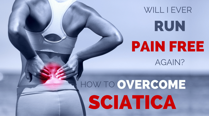 Running with sciatica is a running injury that can cause pain or numbness in your back, thigh, hamstring, calf or hip. It can make us wonder if we will ever run without pain again. Here are the causes, sciatica symptoms, and treatment options to get back to running.