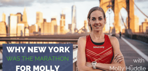 Molly Huddle is not just one of the best runners in the US, but in the World. This week Molly will run her debut Marathon in New York, and the world will be watching. Listen to her share how training has gone, how she sets her goals, and her proudest moment so far. Molly is an inspiration, and this is a must listen episode for runners everywhere.