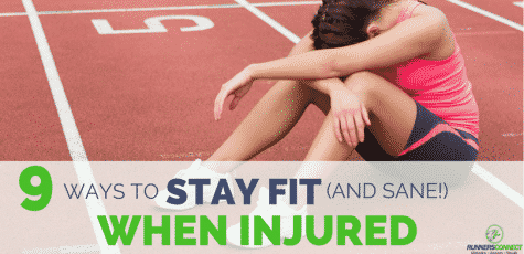 I hate being injured! How do you stay in shape and prevent weight gain when you cannot run more than a few weeks without getting hurt again? This guide helps you to stay positive and stay fit, even if you are injury prone.