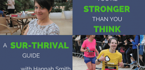 27 years old. Told you wouldn't even make it to Christmas. Hannah Smith defied all the odds, beat her Oesophageal cancer, and used running to get back to health...even missing 2/3 of her stomach. Inspiring story for all runners and triathletes.