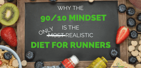 Is there a best diet for runners? In the past, we would have said no, but the 90/10 mindset actually works, and means we don't have to cut out entire food groups, nor abandon all social gatherings. Your diet doesn't have to be perfect, but keeping 90% of it healthy will go a long way.