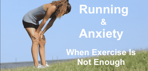 running and anxiety