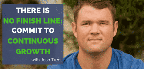 If you have ever used food as a form of self medication for the struggles of life, this is the episode for you. Josh Trent has fantastic advice on how to choose a running or fitness goal that is bigger than you are, that will inspire you during the hard times, and help you get through the weight loss struggles.
