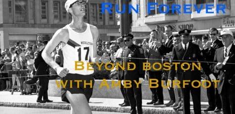 Boston Marathon Winner Amby Burfoot