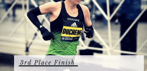 3rd Place Finisher at Boston Marathon Krista DuChene