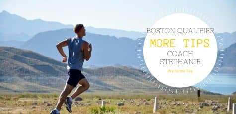 Qualify for Boston with Coach Stephanie