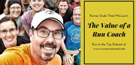 Runner Dude and the Value of a Run Coach