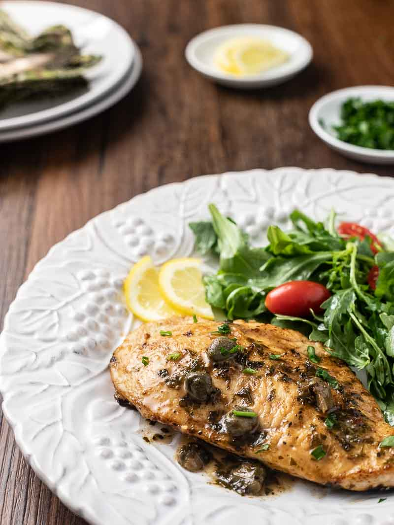 Lemon Chicken Piccata - Runners Connect