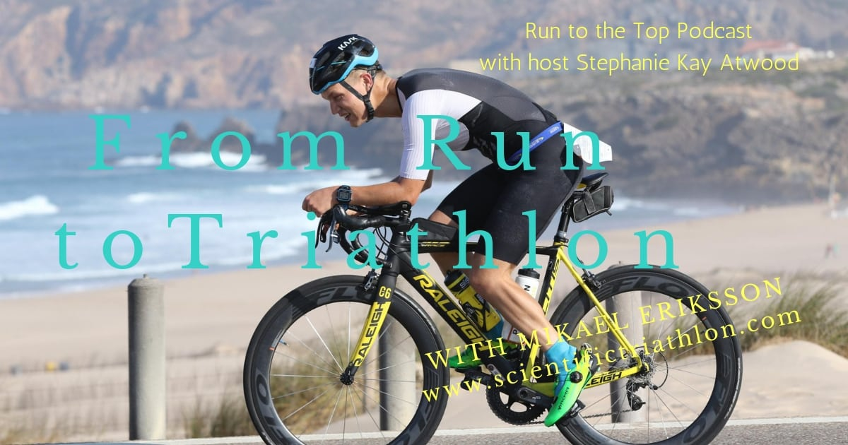 Why do triathletes find running difficult